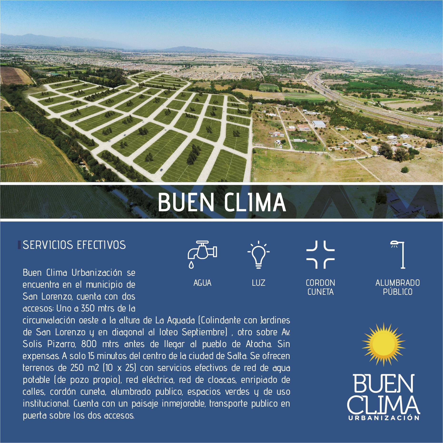 Buen Clima - Urbanización